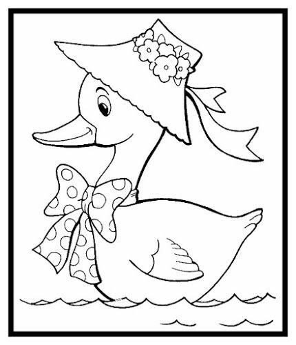 Malvorlagen Ente Tiervorlagen Stoffmalerei Stickereimuster