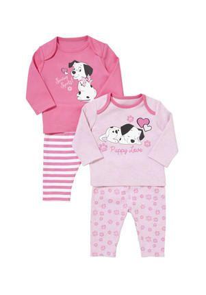 disney baby 101 dalmations pyjamas 12-18 Months