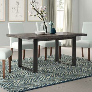 35+ Union rustic dining table model