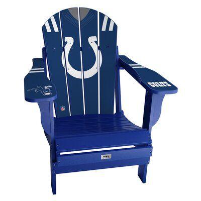 My Custom Sports Chair Nfl Jersey Resin Folding Adirondack Chair