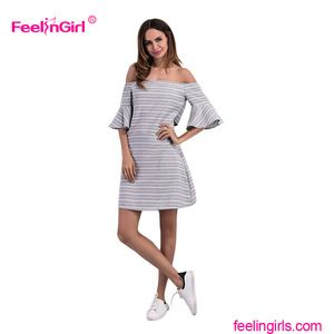 Oem Service Summer Sexy Ladies Fashion Dresses With Pictures