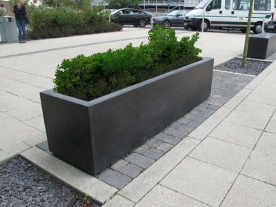 Blyth Robust Large Outdoor Concrete Planters Range Uk Concrete Planters Large Planters Commercial Planters