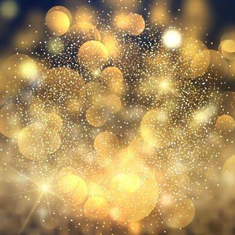 Baixe Bokeh Dourado Luzes De Fundo Gratuitamente Luzes De