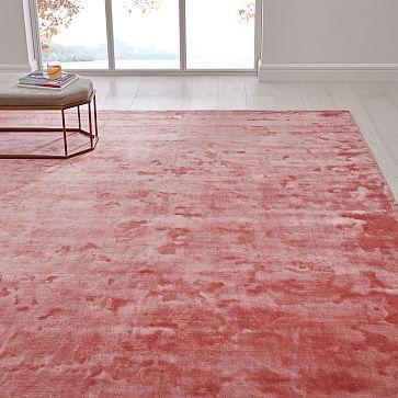 Lucent Rug Pink Grapefruit Westelm Rugs How To Clean Carpet Pink Grapefruit