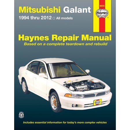 Mitsubishi Galant 94 12 Haynes Repair Manual Walmart Com Mitsubishi Galant Repair Manuals Mitsubishi