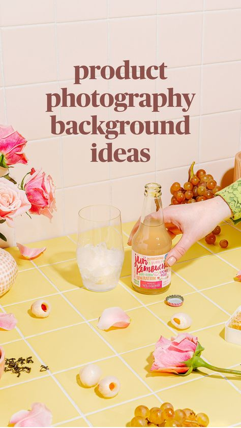 product photography background ideas