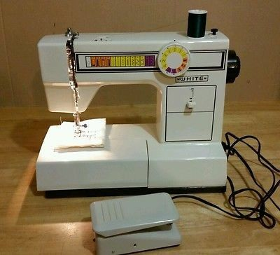 White 1505 Sewing Machine Bought One Of These Over 20 Years Ago And It Still Works Great Sewing Machine Sewing Machine