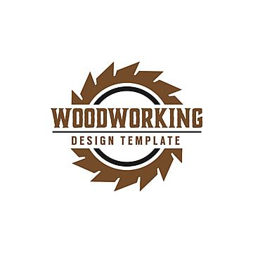 شعار رمز تصميم ناقلات جرافيك فكرة جميل التسمية قالب عزل رمز الخشب أداة جير عنصر أشغال الخشب شركة المنشرة Logo Design Template Design Template Woodworking Logo