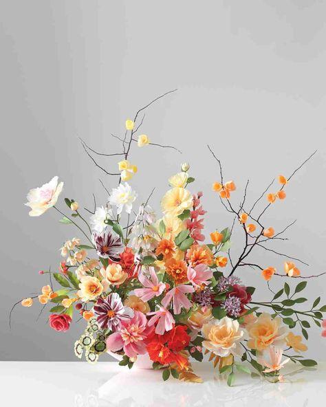How To Make Paper Flowers Flores De Papel Crepom