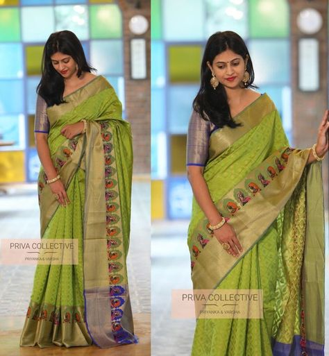 d0114ad02a This Silk Saree Trend That Every One Will Wear This Year | saree