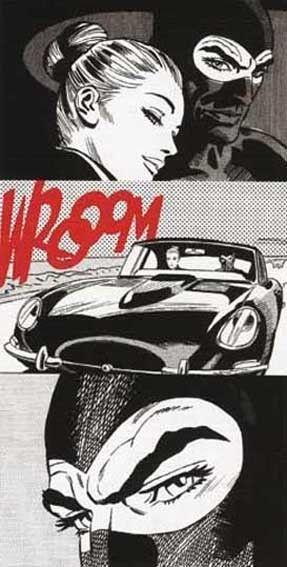 Quadro moderno cm 120x60 stampa su tela Fumetti Uomo Ragno Comics Spiderman