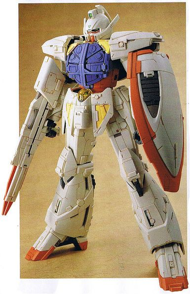 Turn A Gundam Kitbash