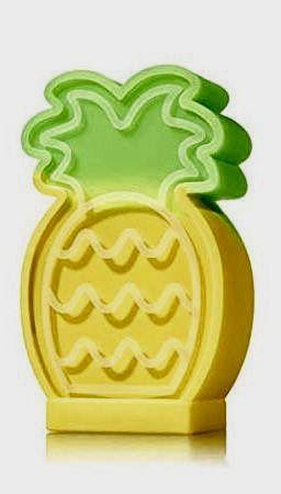 Pineapple Light Up Hand Sanitizer Holder