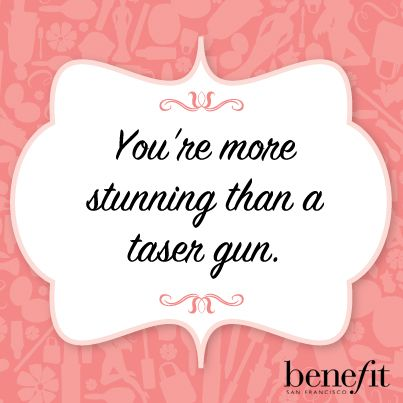 It's true, gorgeous! #beautyboost #benefitbeauty