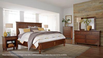 Aspen Cambridge Queen Panel Platform Storage Bed In 2020 Bedroom Sets Furniture Traditional Bedroom