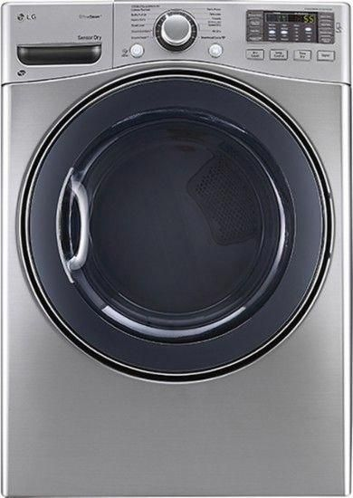 Lg Truesteam 7 4 Cu Ft 12 Cycle Electric Dryer With Steam Graphite Steel Dlex3570v Electric Dryers Steam Dryer Gas Dryer