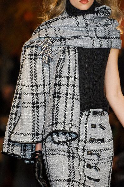 Douglas Hannant Fall 2012 - Love this tartan!