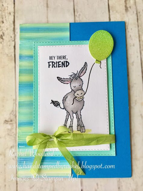 Fun Fold Cards, Cool Cards, Stampinup, Stamping Up Cards, Animal Cards, Cards For Friends, Card Tutorials, Handmade Birthday Cards, Card Sketches
