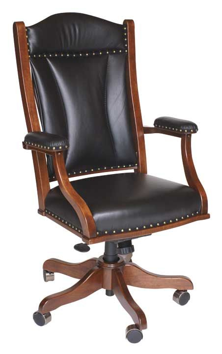 Amish Upholstered Executive Office Chair Executive Office Chairs