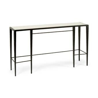 Oyster Bay Calerton Extendable Dining Table With Images Iron Console Table Marble Console Table Extendable Dining Table