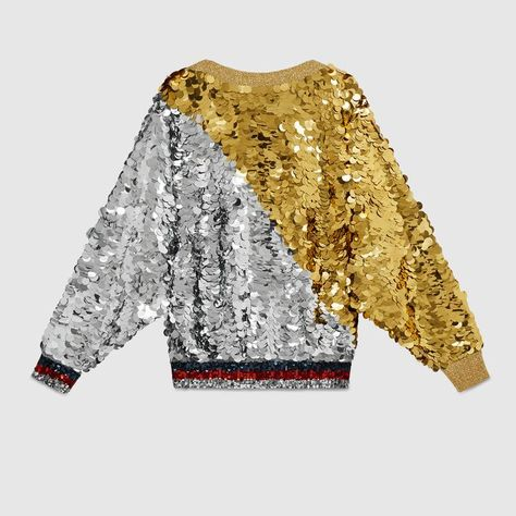 7751b6ab33d4 Gold and silver sequin top trong 2018