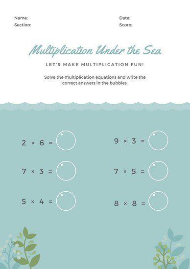 Pin By Michaela Stejskalova On Informatika Math Worksheets Worksheet Template Math