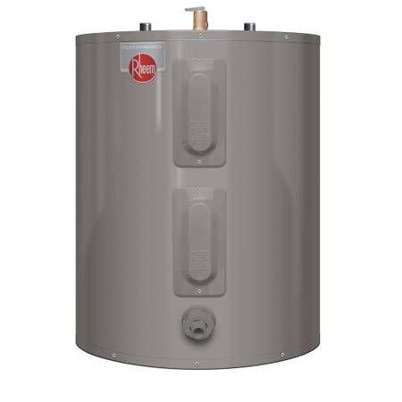Rheem Performance 20 Gal Short 6 Year 3800 3800 Watt Elements Electric Tank Water Heater 20 Gallon Tan Electric Water Heater Water Heater Water Heater Blanket