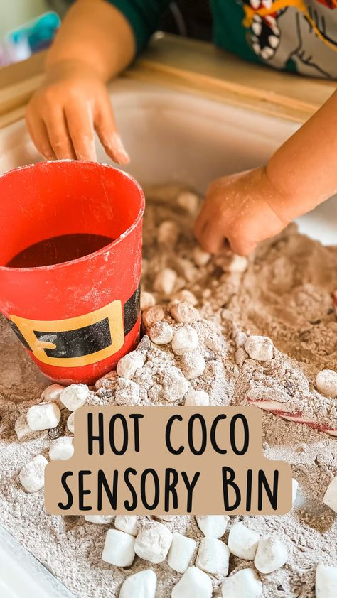 Hot Coco Sensory Bin