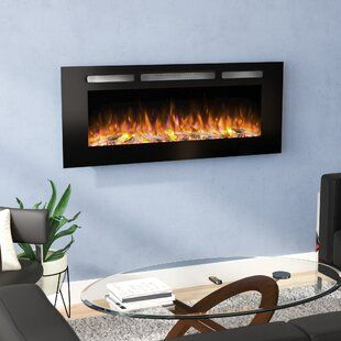 Orren Ellis Quevedo No Heat Wall Mounted Electric Fireplace Wayfair With Images Wall Mount Electric Fireplace Electric Fireplace Recessed Electric Fireplace