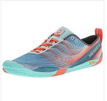 official photos 86e7d 8010f Merrell Women s Vapor Glove 2 Barefoot Trail Running Shoe Sea Blue coral