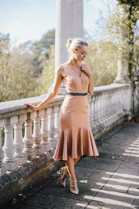 Fashion Mumblr Josie wears Coast's Ryanna Peplum Dress