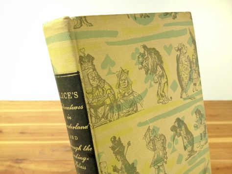 """Book, """"Alice's Adventures in Wonderland and Through the Looking Glass,"""" Lewis Carroll, 1946 Rainbow Classics, World Publishing Co., Tenniel."""