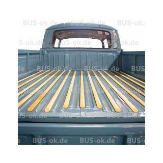 T2 Holzleisten Doka Doppelkabine Ladefläche Set Verglnr. 265863751 B  265863753 C In T2 1968 1979, T2 Karosserieteile Und Reparaturbleche, T2  Pritscu2026