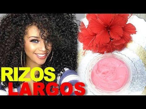 Cómo Hacer Una Crema De Peinar Casera Para Rizos Los Rizos De Yarah Youtube Hair Makeup Hair Styles Beauty