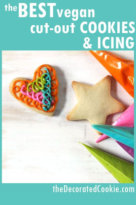 The best VEGAN cut-out cookies and icing