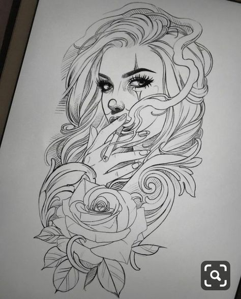 Tattoos Minus the eye scar and have a joint rather than a cig. Minus the eye scar and have a joint rather than a cig. History Drawings, Full Sleeve Tattoos, Sketches, Art Drawings, Drawings, Tattoo Art Drawings, History Tattoos, Tattoo Design Drawings, Tattoo Stencils