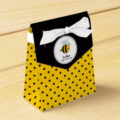 Bumble Bee Baby Shower Favor Box