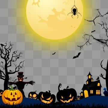 Halloween Elements On Transparent Background Halloween Happy Halloween Halloween Graphic Png Transparent Clipart Image And Psd File For Free Download Halloween Frames Halloween Typography Halloween Clipart