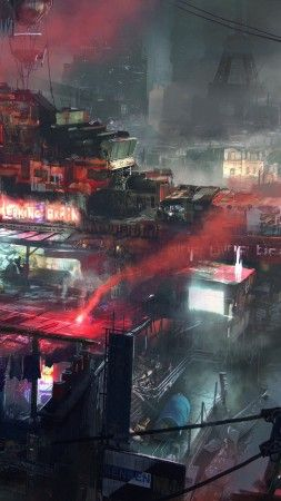 Remember Me 5k 4k Wallpaper Game Sci Fi Future City Red Smoke Ship Art Screenshot 4k Sci Fi Wallpaper City Iphone Wallpaper Fantasy Art Landscapes