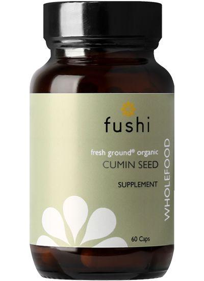 Fushi Wild Harvested Cumin Seed Capsules Ingredient Labels Ashwagandha Root Organic Ingredients