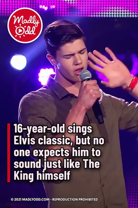 16-year-old sings Elvis classic, but no one expects him to sound just like The King himself