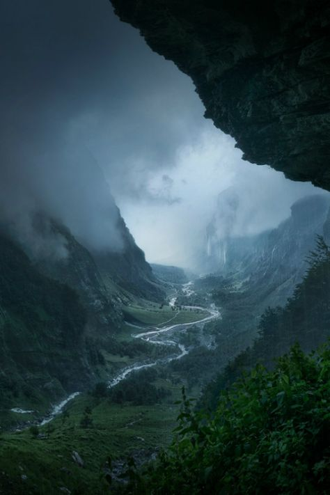 Winning shots from Siena International Photography Awards Nature: Descent to Rivendell, by Enrico Fossati, depicts a storm in Haute-Savoie. Beautiful World, Beautiful Places, Beautiful Pictures, Landscape Photography, Nature Photography, Storm Photography, Landscape Photos, International Photography Awards, Planet Earth