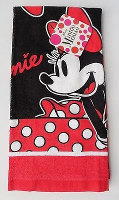 Details About Disney Minnie Mouse Dotty Red Black Kitchen