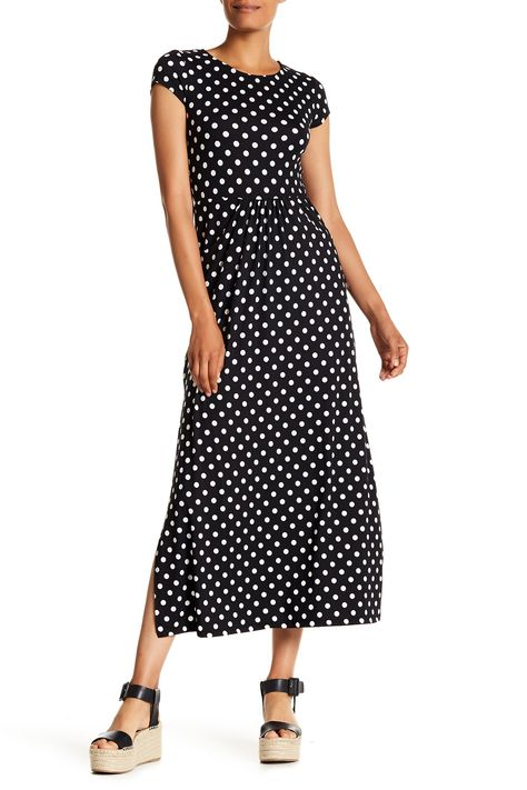Cap Sleeve Maxi Dress by Velvet Torch on @nordstrom_rack