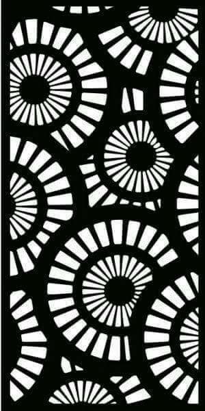Deco panel 56 dxf File Free Download   Jali   Stencil