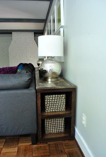 What To Put On A Console Table Behind A Couch Diy Sofa Table