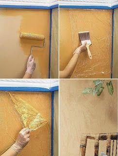 Preparate la pittura secondo le indicazioni riportate nella confezione. Idee Fai Da Te