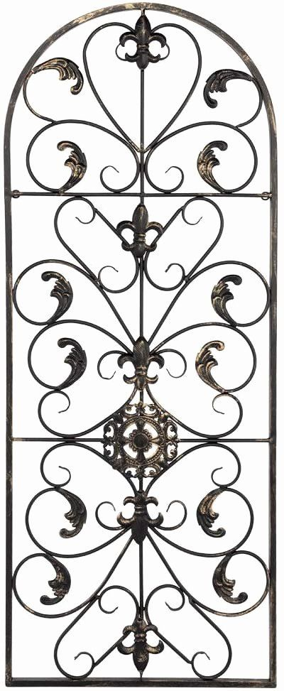 Wrought Iron Outdoor Wall Decor Beautiful Amazon Adumly Arched Wrought Iron Wall Art Sculpture In 2020 Wrought Iron Wall Art Wrought Iron Wall Decor Outdoor Wall Decor