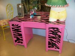 Black And Pink Animal Print Diy Wall Hangings Google Search Marissa S Room Pinterest Dresser Paint Furniture