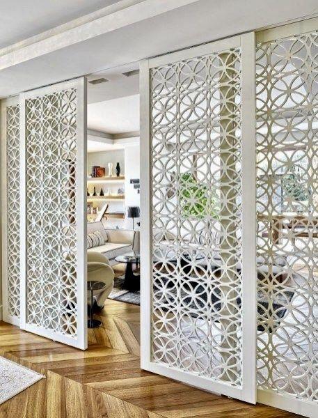 fabric room divider ideas